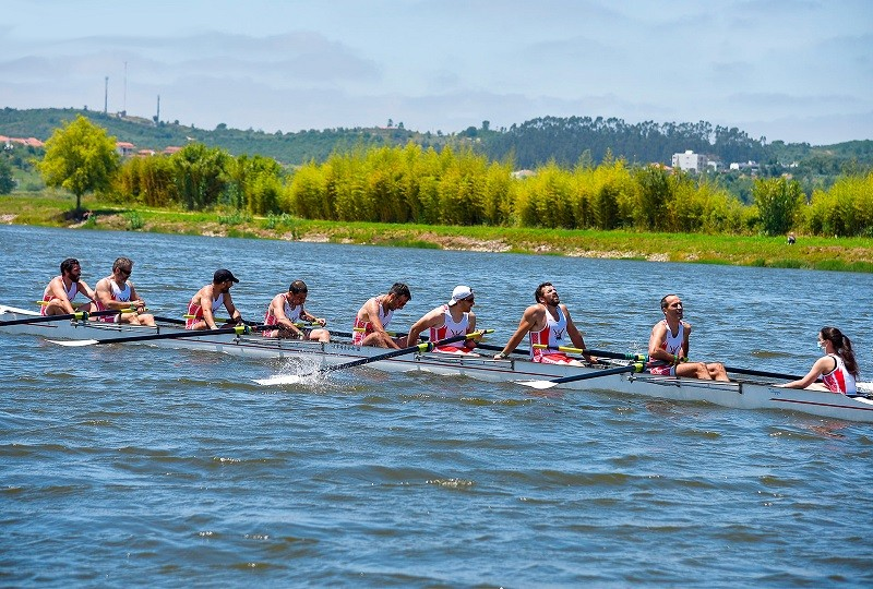 Fluvial Vilacondense conseguiu cinco medalhas em remo