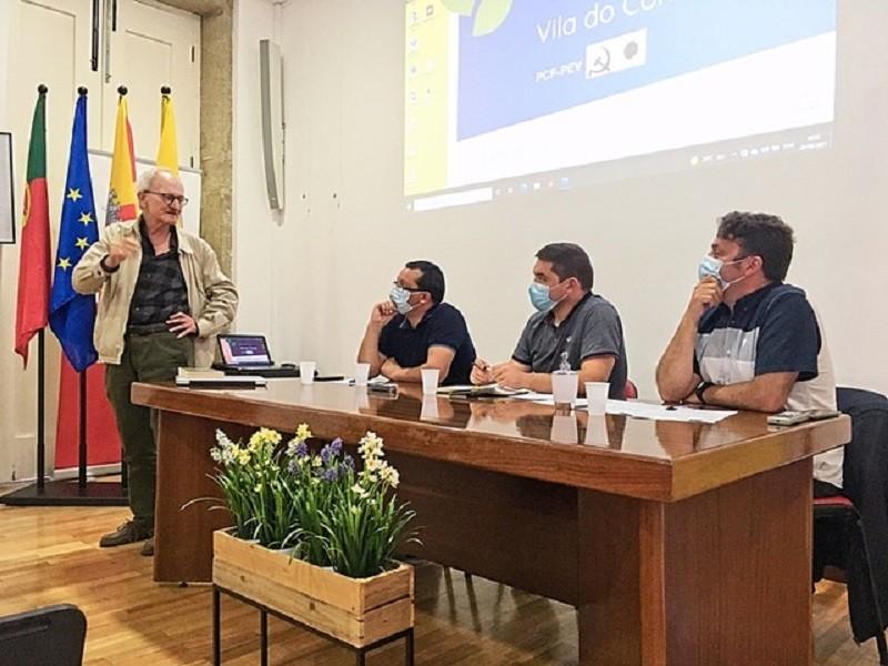 CDU em debate sobre problemas do concelho de Vila do Conde