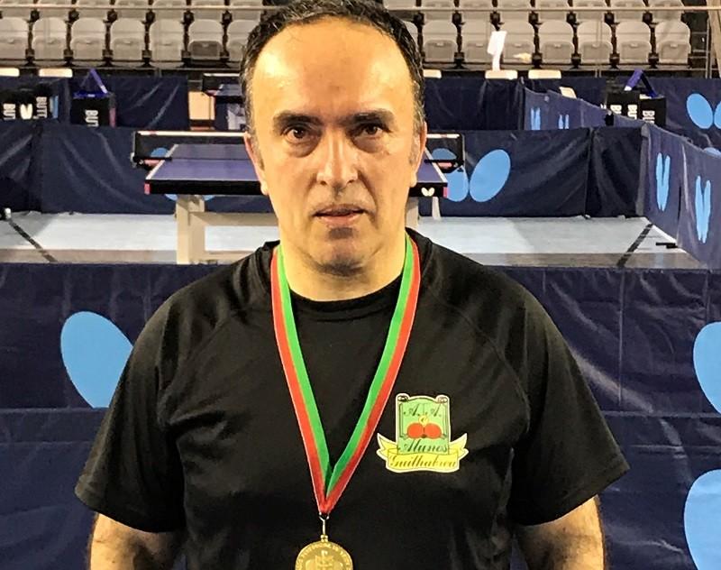 Atleta do GDCAAA de Guilhabreu é Campeão Nacional