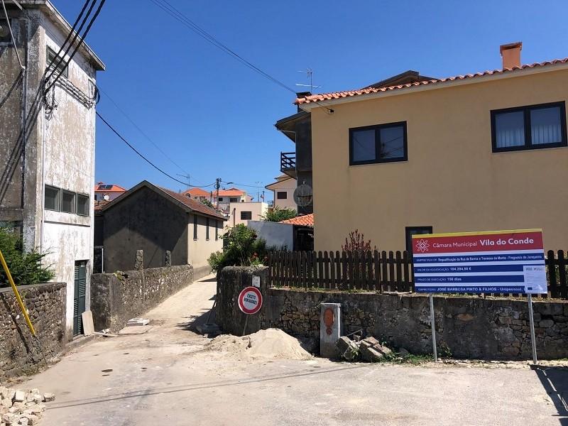 Vila do Conde prossegue obras de beneficiação na Junqueira