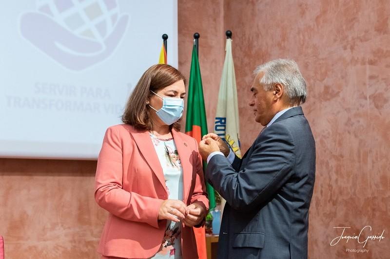 Marta Miranda reassume Tarefas do Rotary Club de Vila do Conde.
