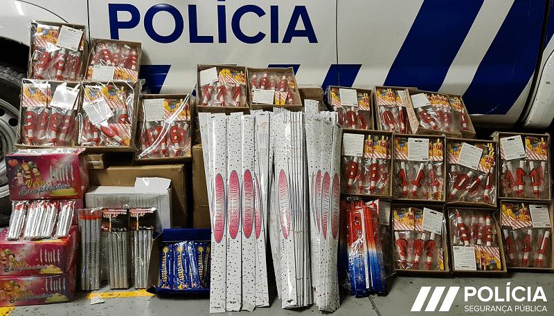 PSP trava venda ilegal de artigos pirotécnicos em Vila do Conde