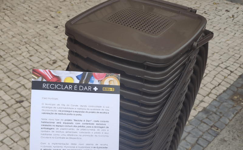 Vila do Conde: Recolha seletiva porta-a-porta chega aos prédios em altura