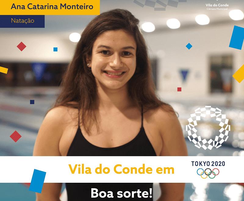 Ana Catarina de Vila do Conde: pela primeira vez uma nadadora portuguesa apura-se para as meias-finais mariposa