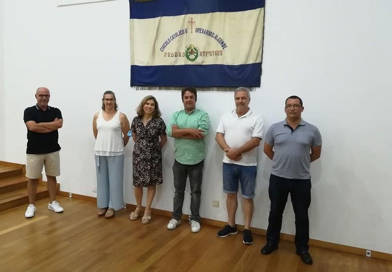 Candidatos da CDU a Vila do Conde foi conhecer C.C.O.