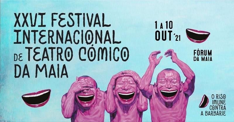 Festival de Teatro Cómico na Maia tem hoje duas propostas