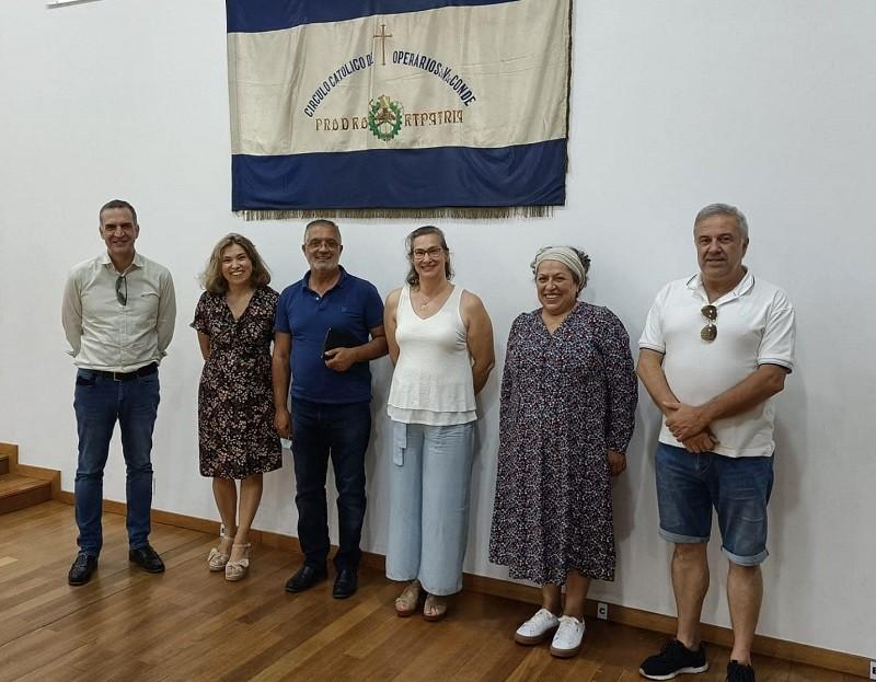Candidatos da IL visitaram C.C.O. de Vila do Conde