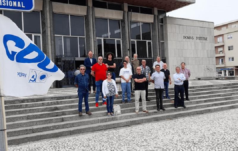CDU entregou listas de candidaturas no Tribunal de Vila do Conde