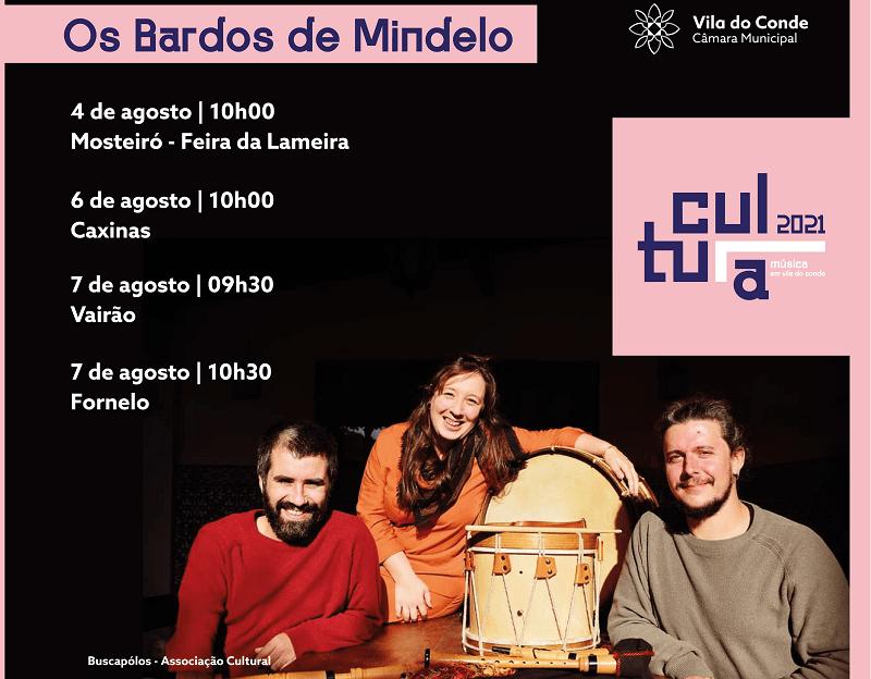"""""""Os Bardos de Mindelo"""" em espetáculo pelo concelho de Vila do Conde"""