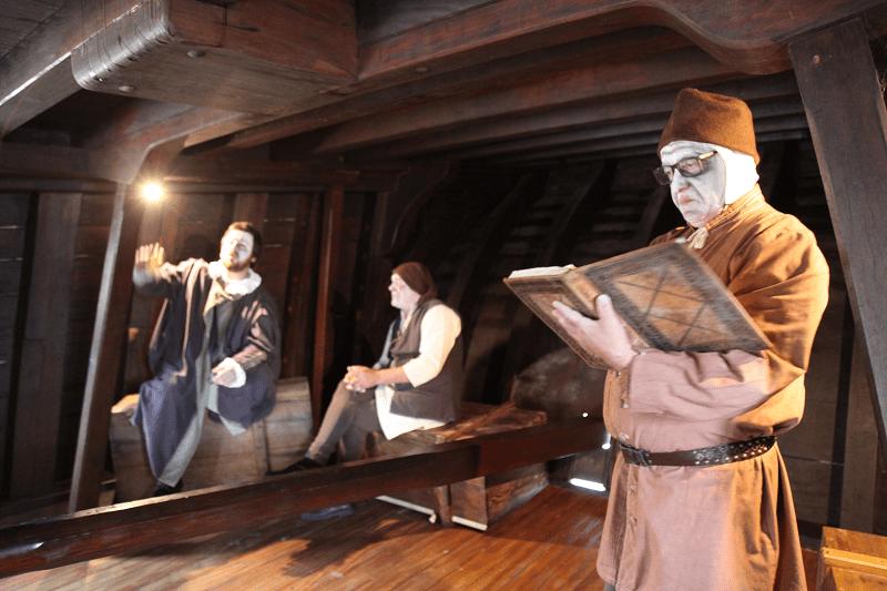 Visitas dramatizadas na Nau Quinhentista de Vila do Conde