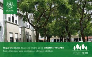 Em Vila do Conde regue uma árvore e seja agente no combate às alterações climáticas