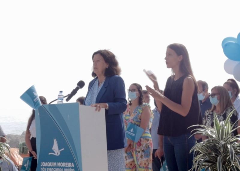 Elisa Ferraz retoma amanhã a campanha eleitoral