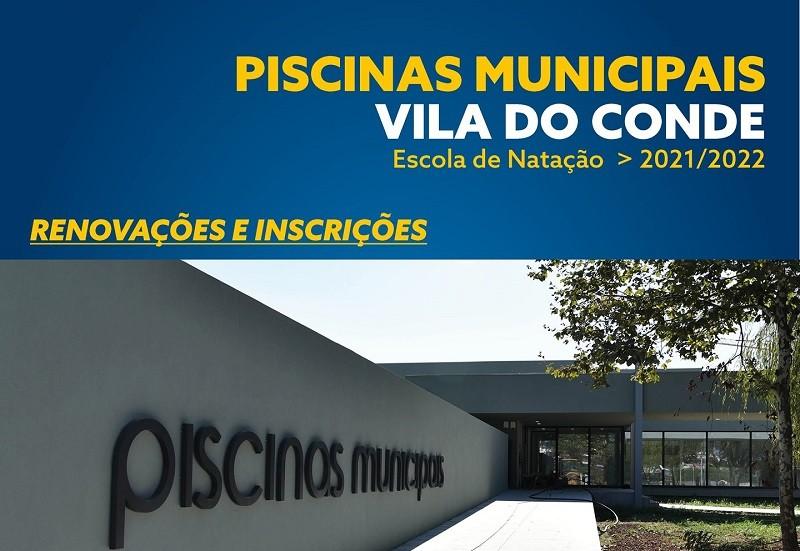 Piscinas de Vila do Conde e Mindelo abrem inscrições