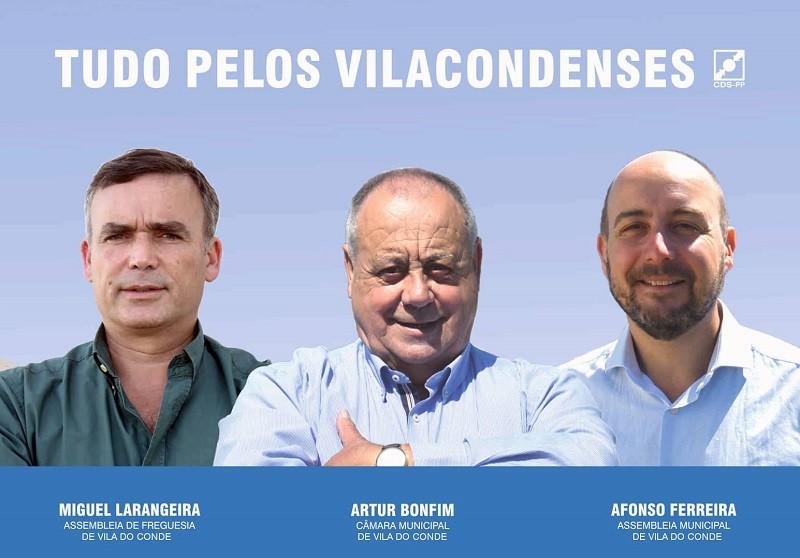 CDS-PP entre a Marca Vila do Conde e a Cultura nas últimas mensagens