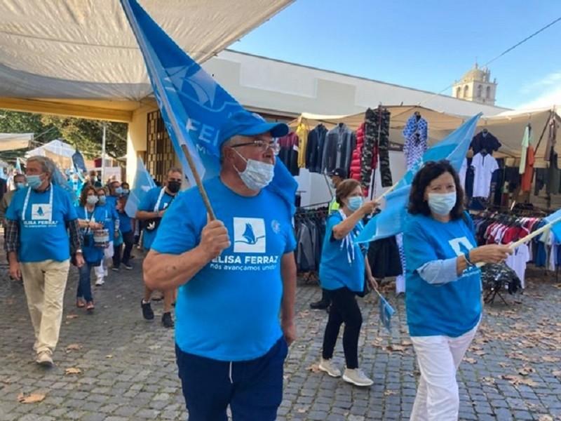 Feira de Vila do Conde é passagem obrigatória em campanha eleitoral