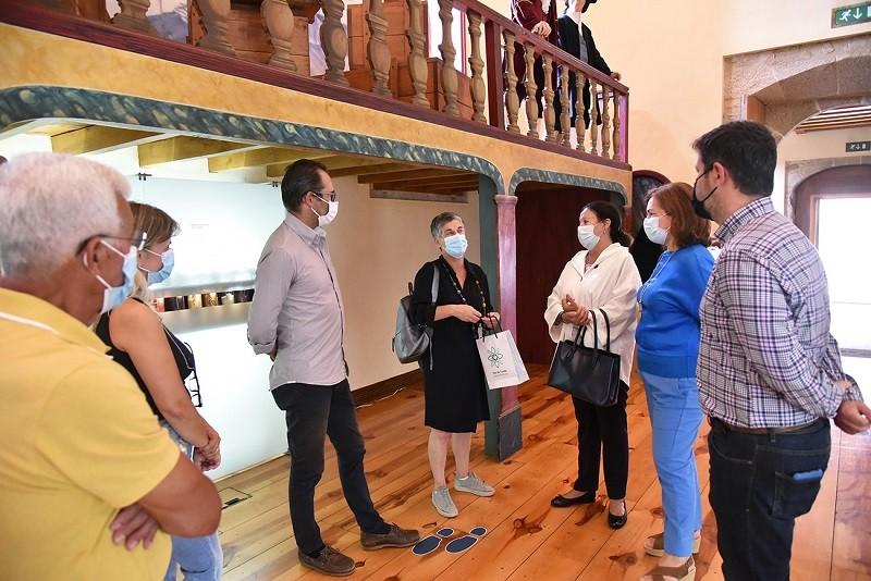 Diretora Regional de Cultura do Norte visitou a Alfândega Régia