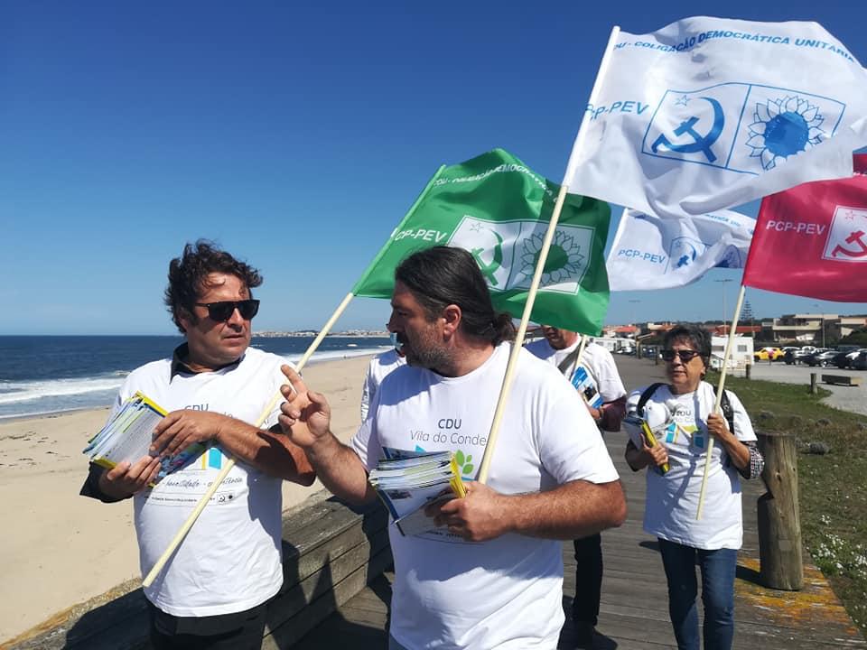 CDU Vila do Conde faz campanha junto dos trabalhadores municipais