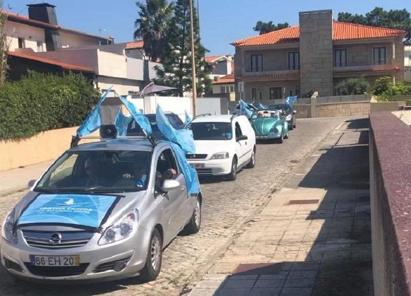 NAU realizou piquenique e caravana por freguesias de Vila do Conde