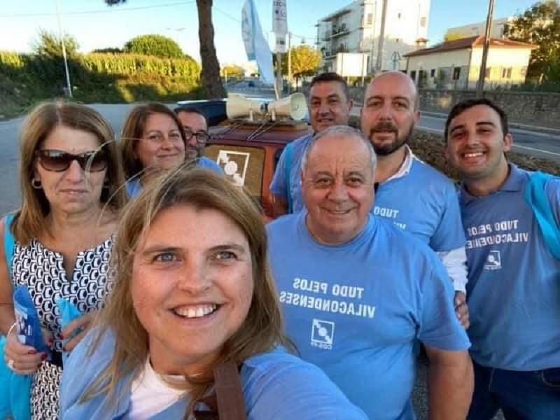 CDS-PP de Vila do Conde acompanhou candidatos às freguesias