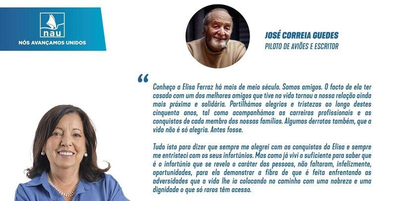 Elisa Ferraz recebe apoio expresso de nome reconhecido em Vila do Conde