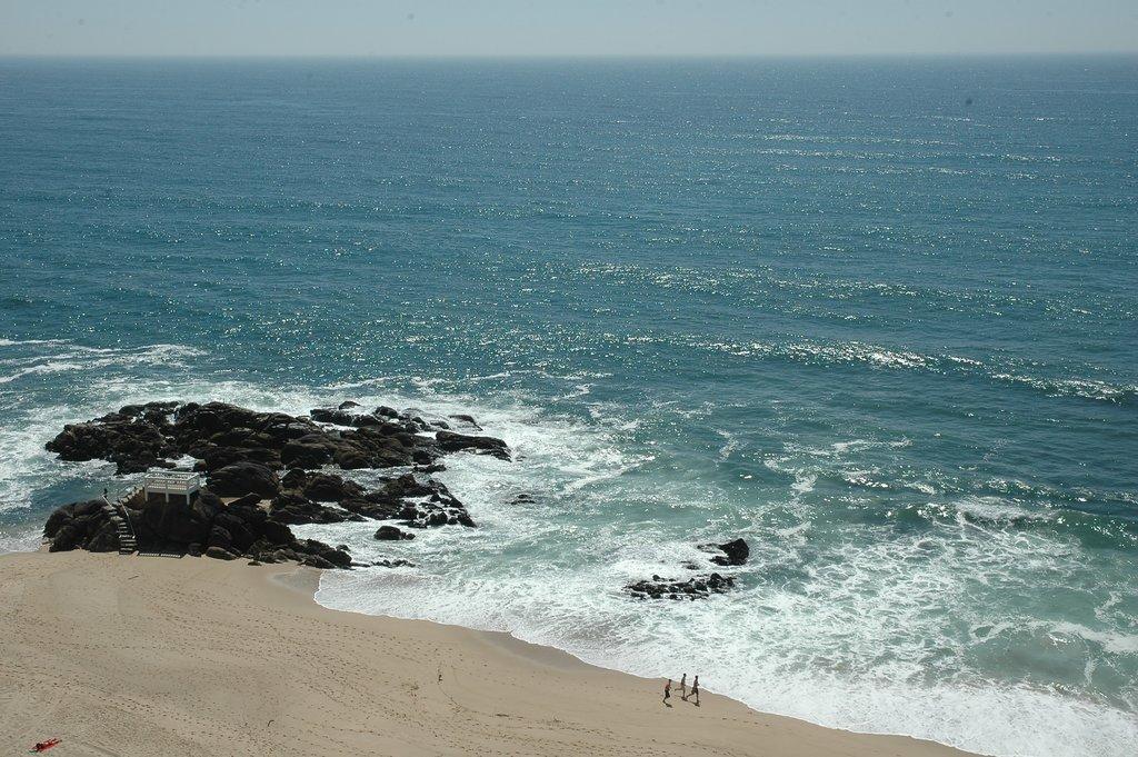 Cinco pessoas estiveram em perigo numa praia de Vila do Conde