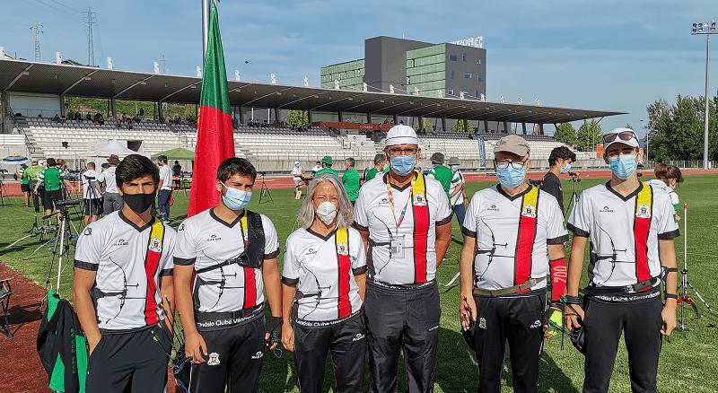 Atletas do Ginásio Vilacondense Campeões Nacionais em Tiro com Arco