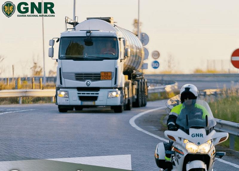 """GNR arrancou com Operação """"Mercadorias perigosas"""""""