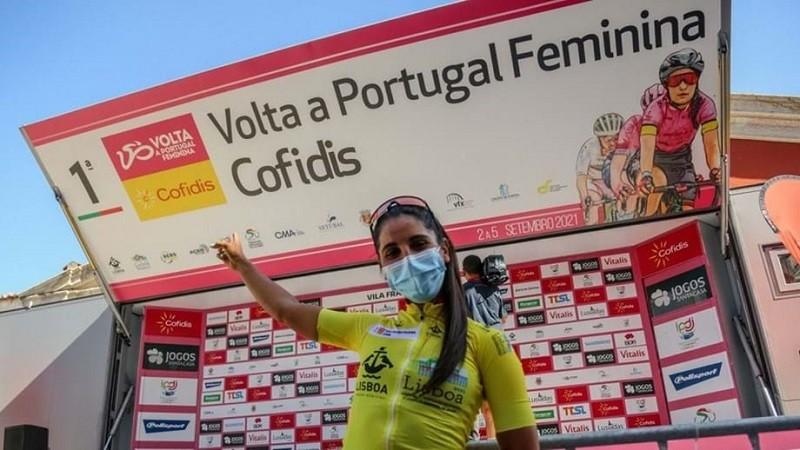 Raquel Queirós de Vila do Conde venceu 1ª Volta a Portugal