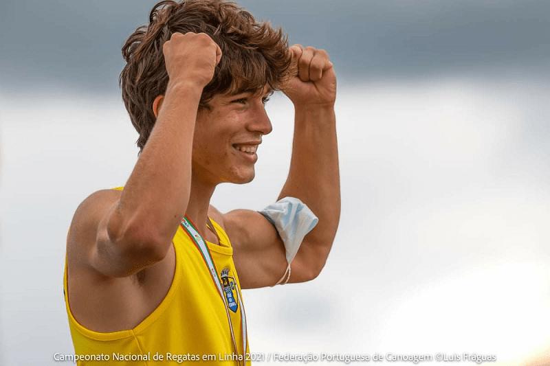 """Atleta do Vila do Conde Kayak representa o país no """"Olympic Hopes"""""""