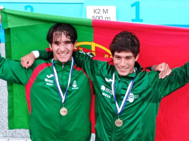"Ouro para atleta do Vila do Conde Kayak na ""Olympic Hopes"""