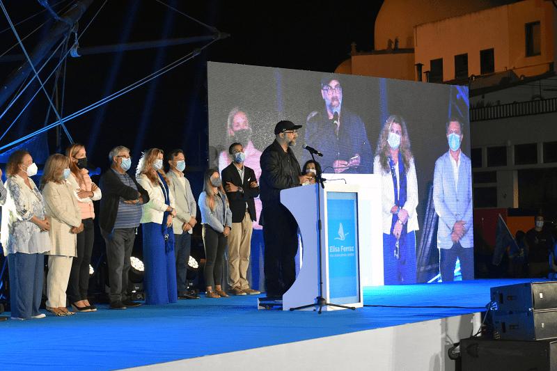 Valter Hugo Mãe declarou apoio a Elisa Ferraz