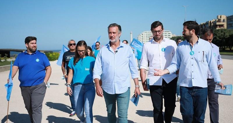 Líder da Iniciativa Liberal em Vila do Conde para almoço e arruada
