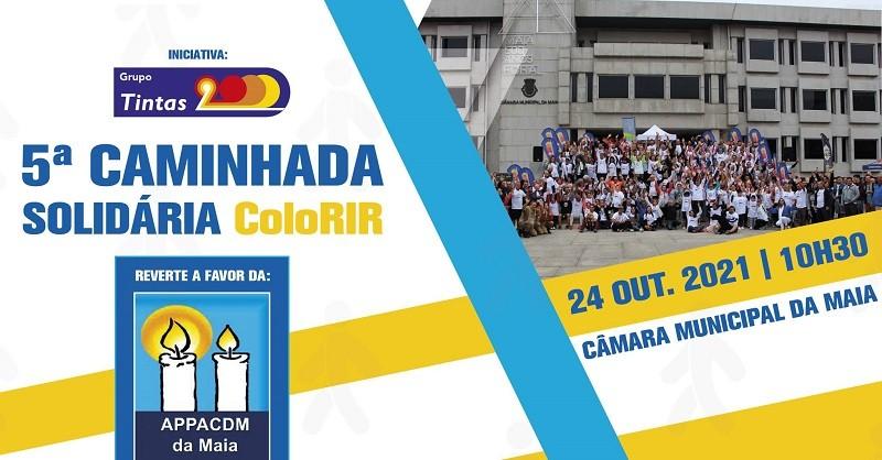 Tintas 2000 em caminhada solidária na Maia