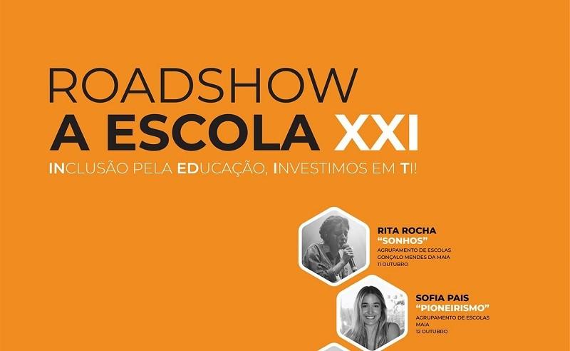 Road Show percorre agrupamentos de escolas da Maia