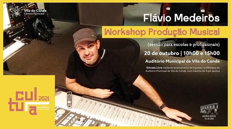Câmara de Vila do Conde promove workshops de Produção Musical