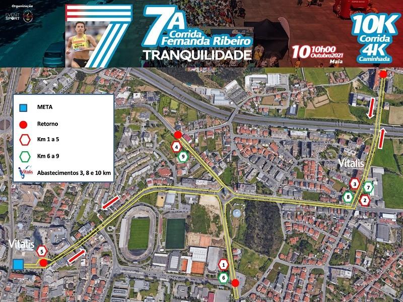 7ª corrida Fernanda Ribeiro na Maia é domingo