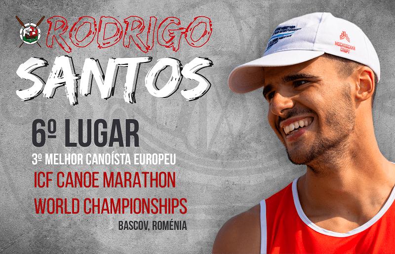 Rodrigo Santos foi 3º melhor europeu na Rússia