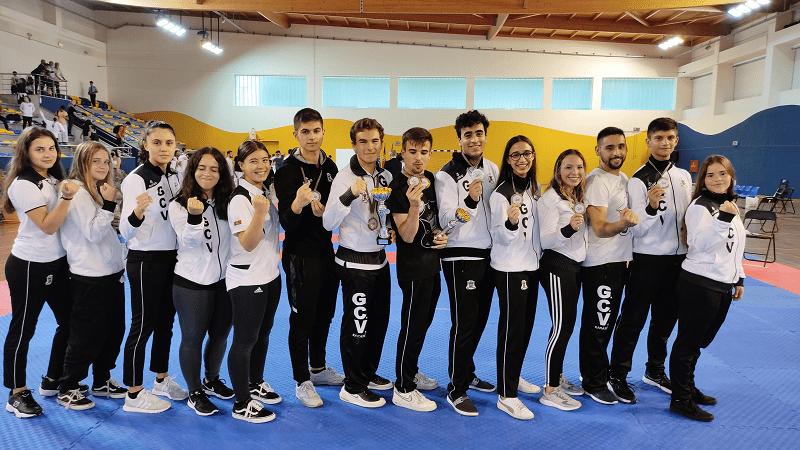 GC Vilacondense é vice-Campeão de Karate Shotokan